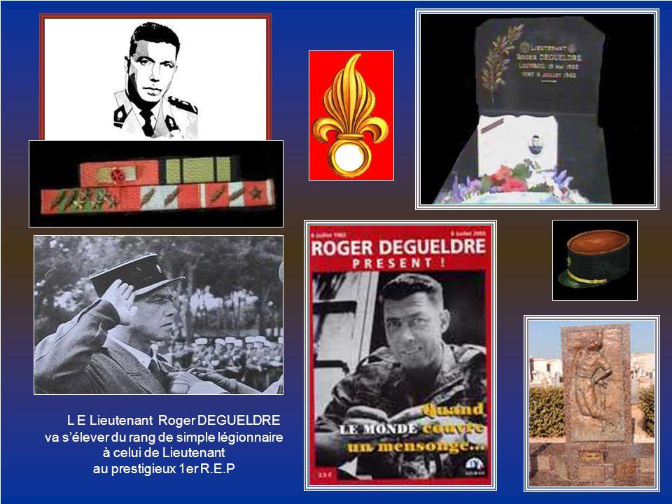 L E Lieutenant Roger DEGUELDRE
