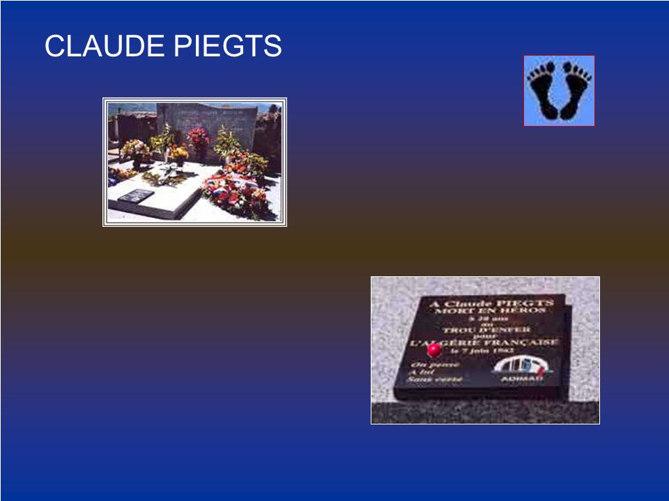 CLAUDE PIEGTS