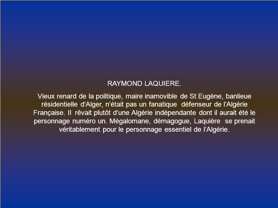 RAYMOND LAQUIERE.
