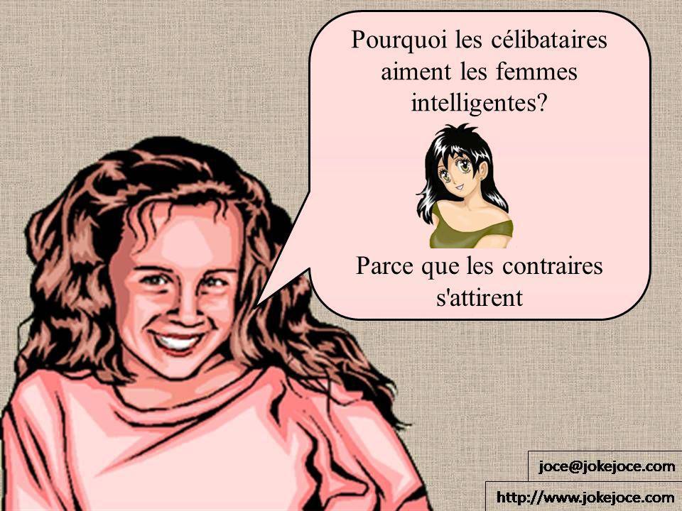 Pourquoi les célibataires aiment les femmes intelligentes