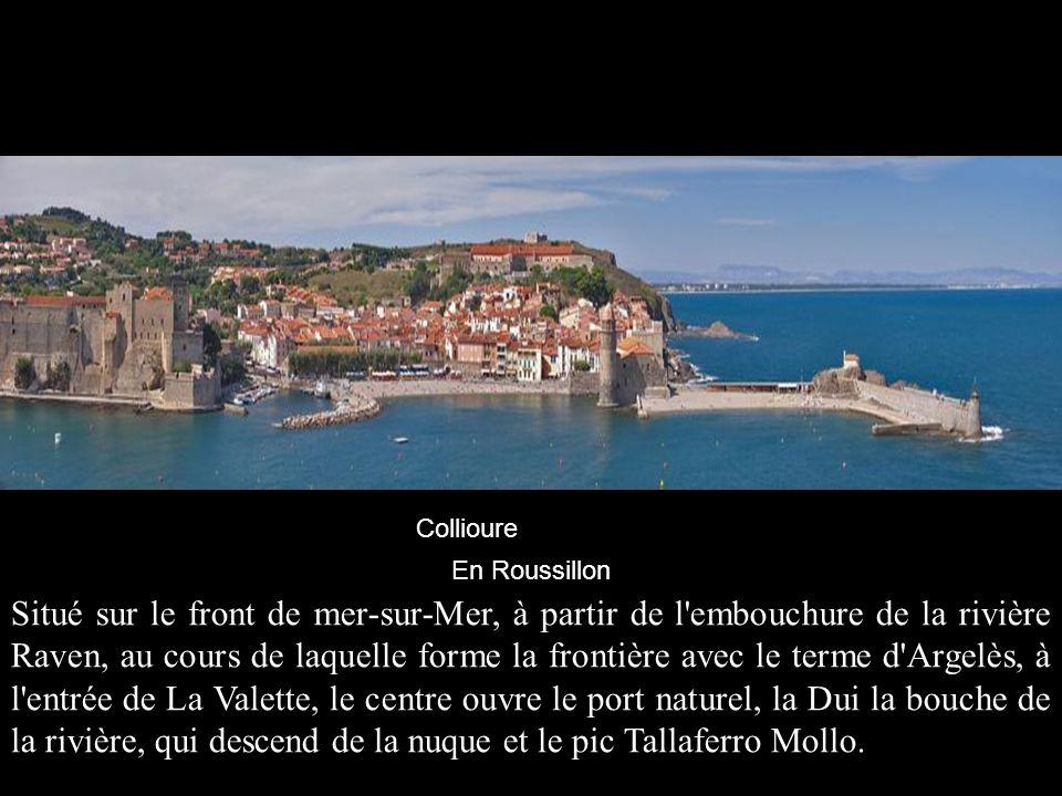Collioure En Roussillon.