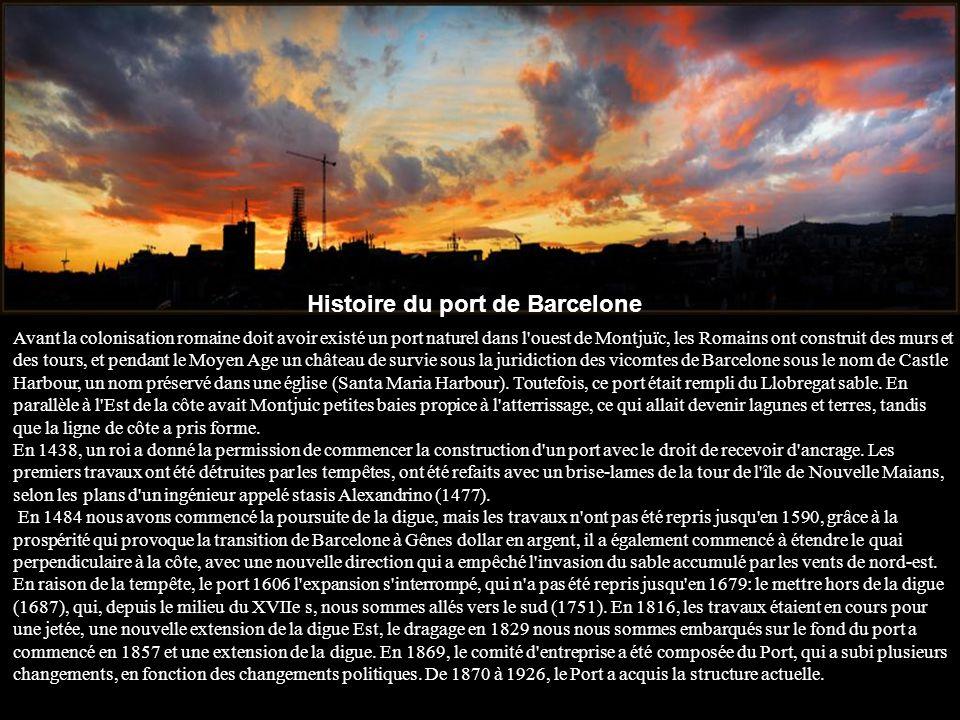 Histoire du port de Barcelone