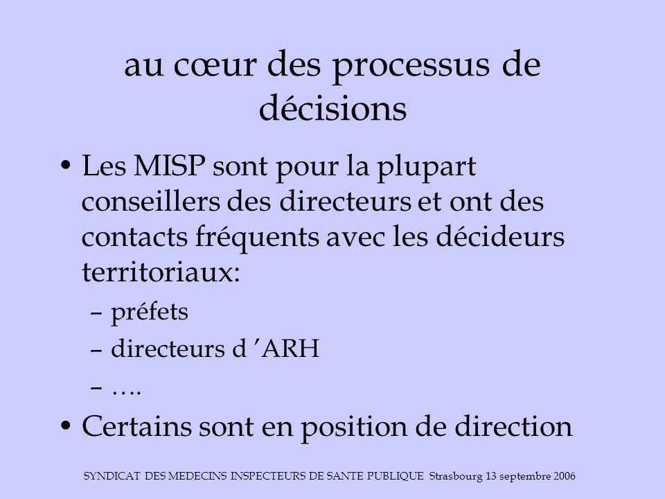 au cœur des processus de décisions