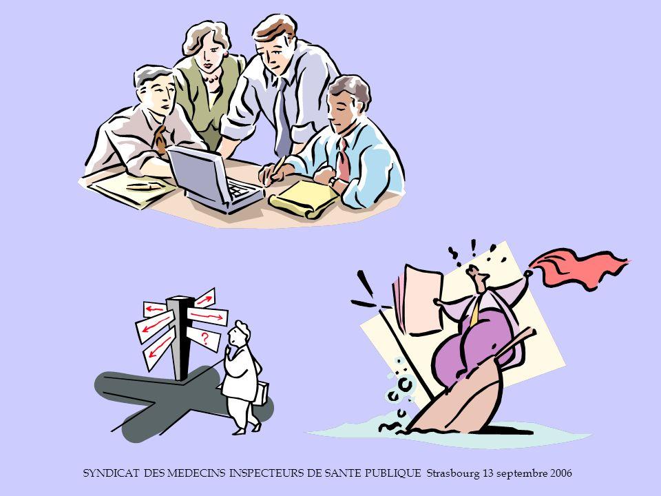 SYNDICAT DES MEDECINS INSPECTEURS DE SANTE PUBLIQUE Strasbourg 13 septembre 2006