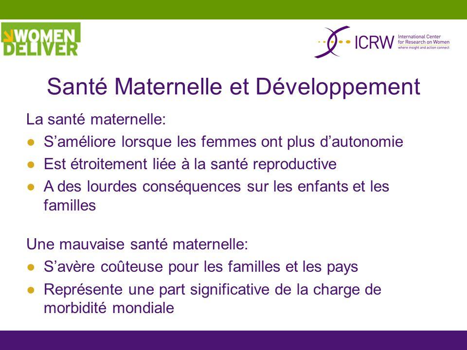Santé Maternelle et Développement