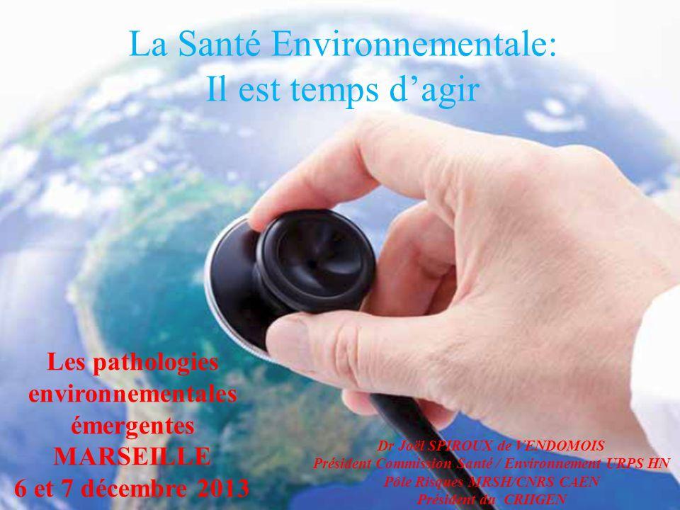 La Santé Environnementale: Il est temps d'agir