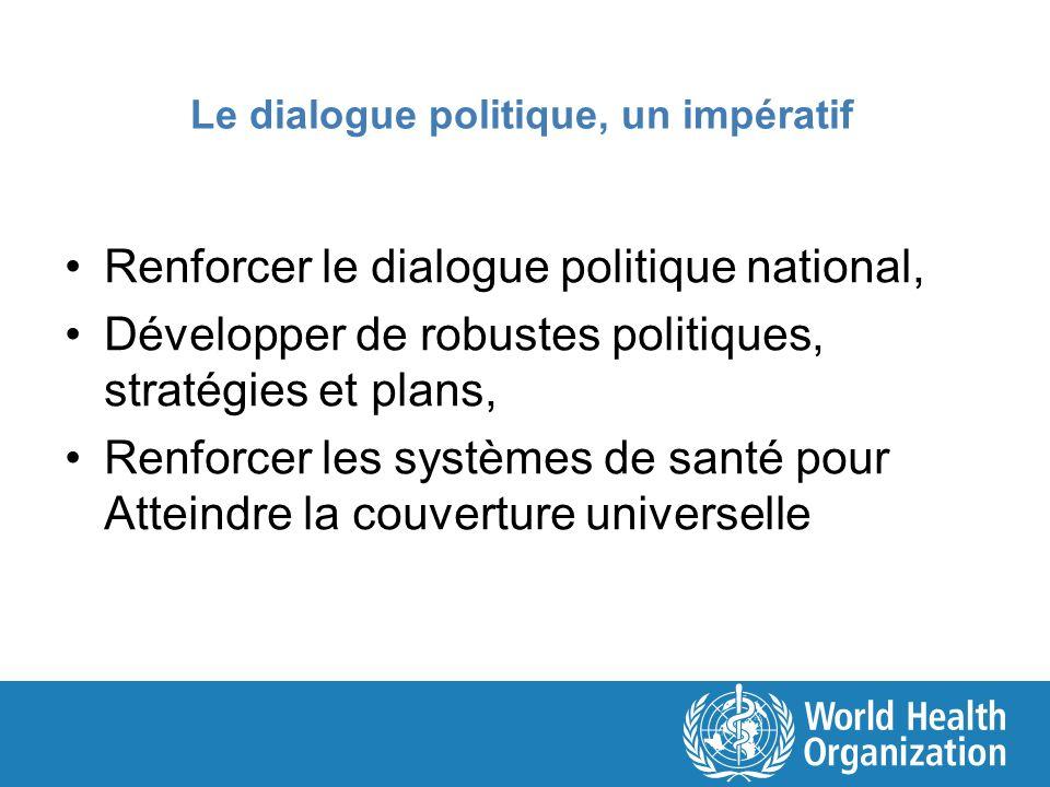 Le dialogue politique, un impératif