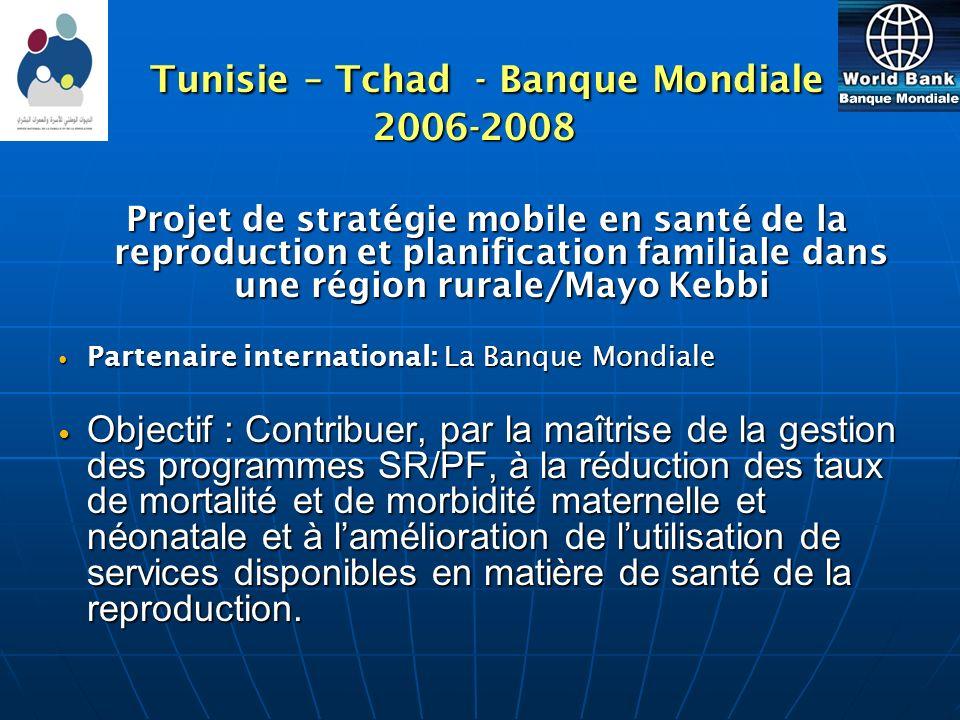 Tunisie – Tchad - Banque Mondiale 2006-2008
