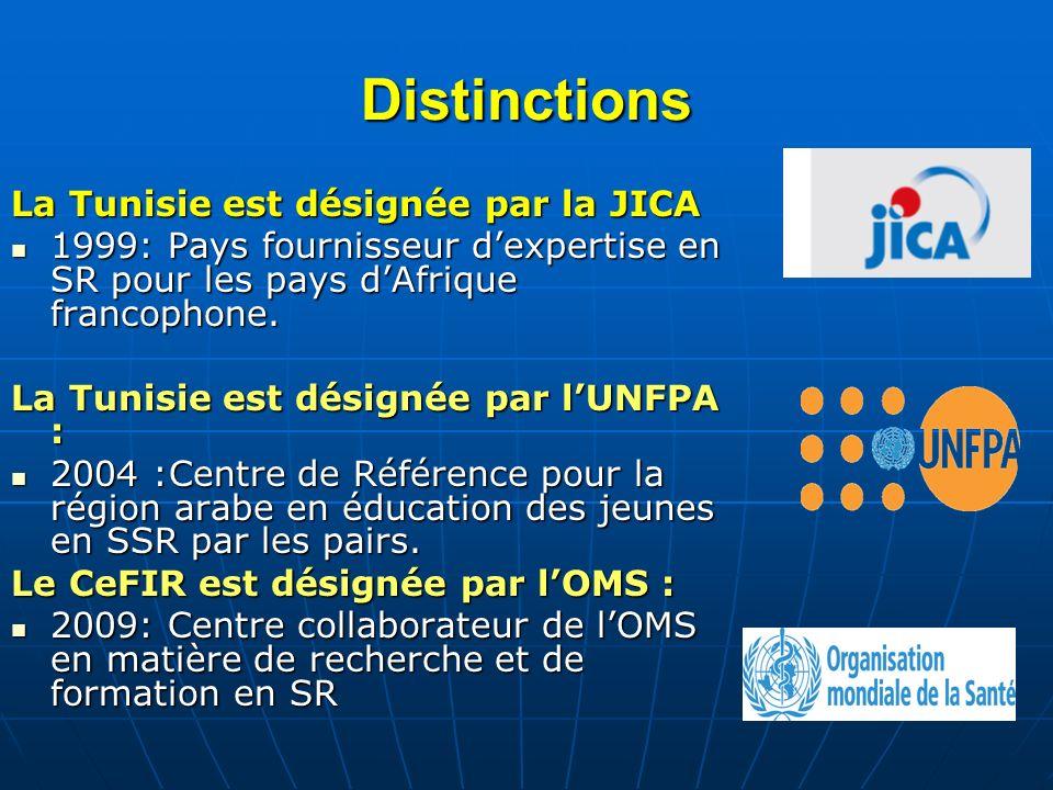 Distinctions La Tunisie est désignée par la JICA