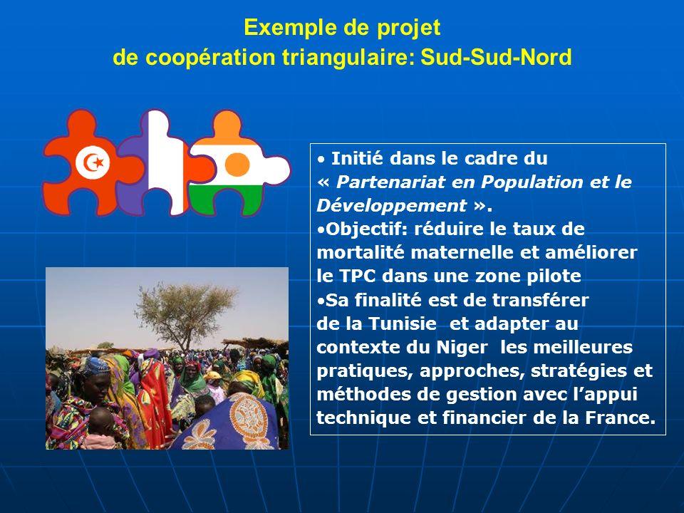 de coopération triangulaire: Sud-Sud-Nord