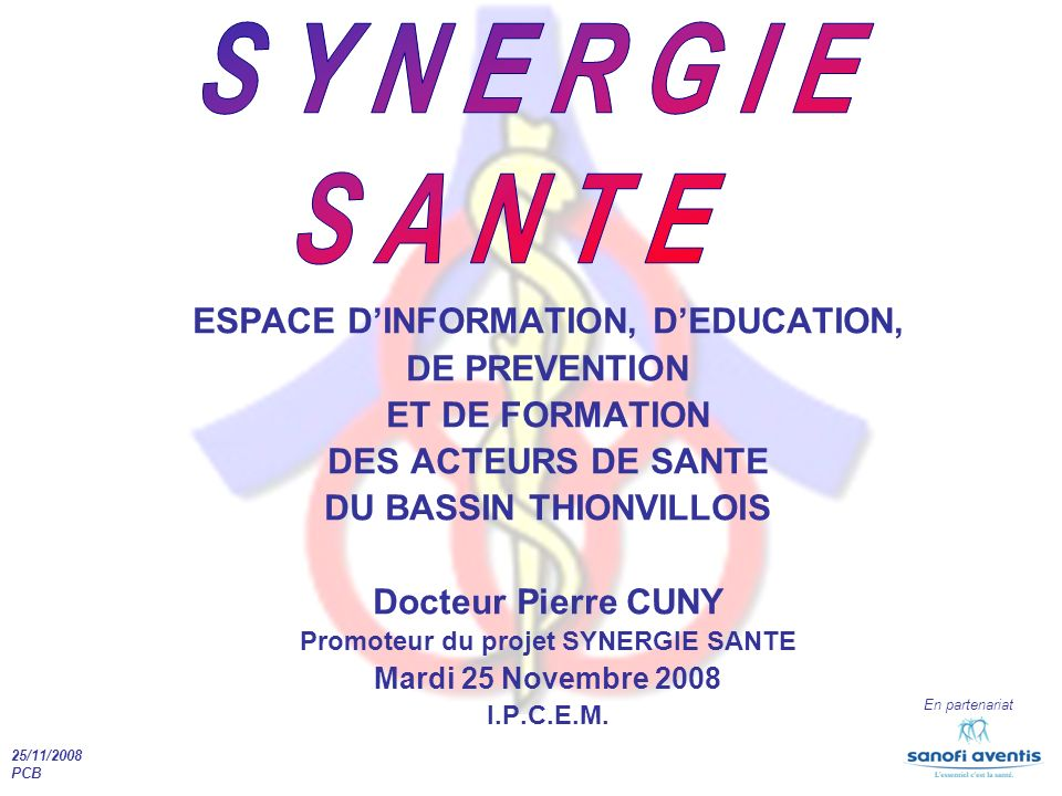 SYNERGIE SANTE ESPACE D'INFORMATION, D'EDUCATION, DE PREVENTION