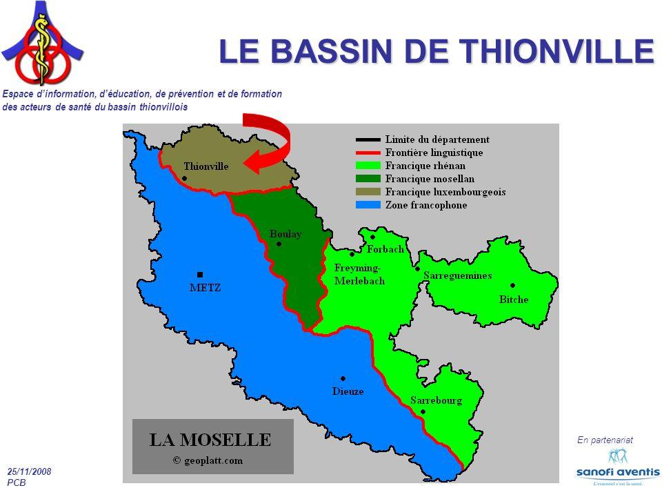 LE BASSIN DE THIONVILLE