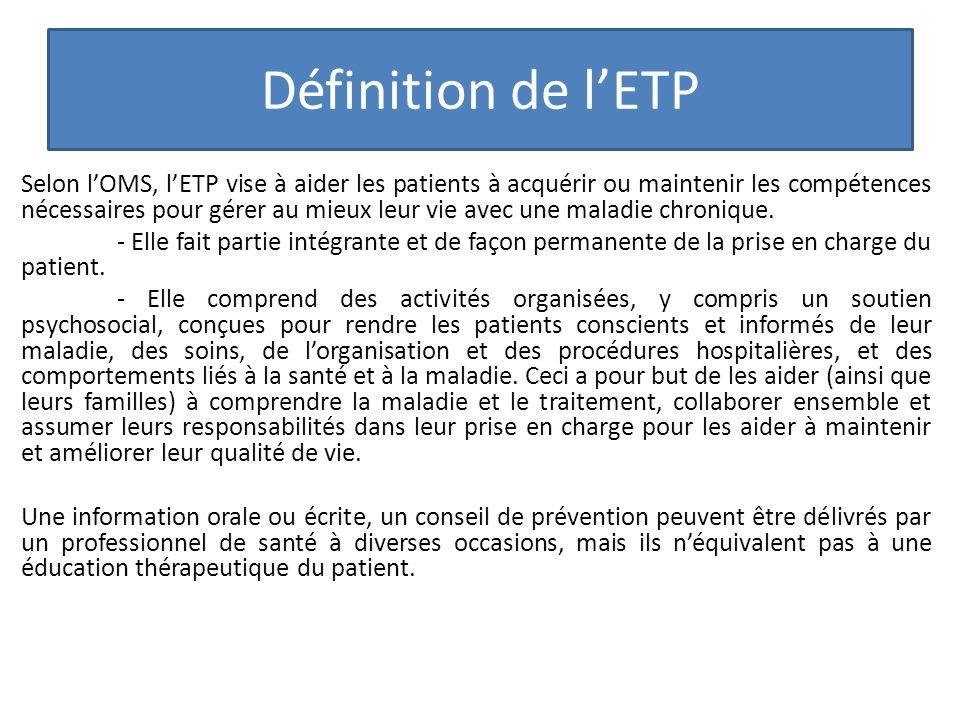 Définition de l'ETP