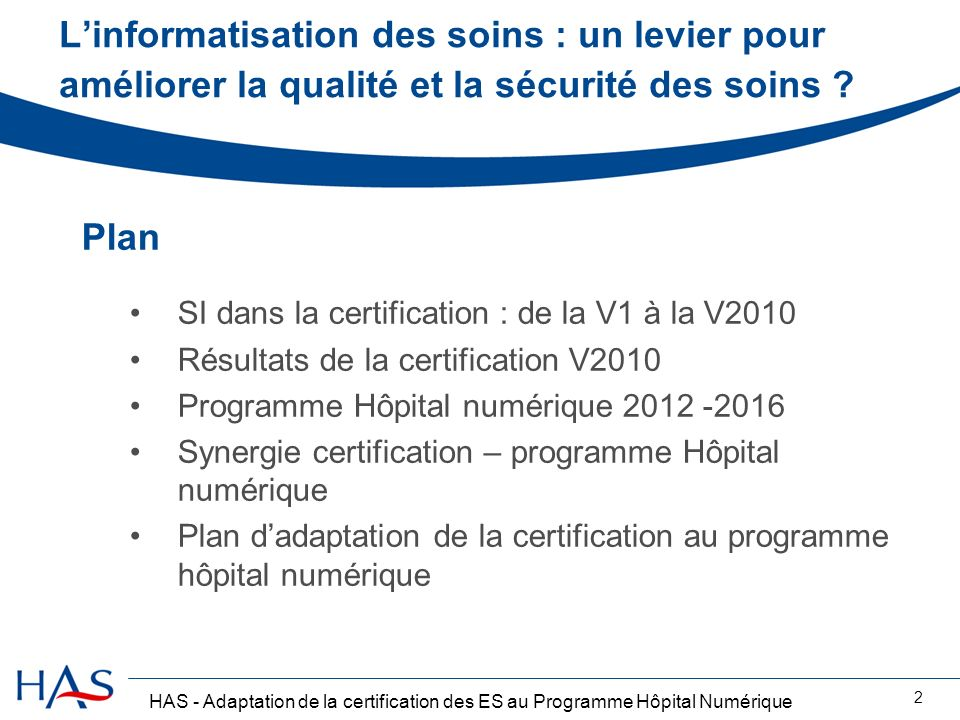 L'informatisation des soins : un levier pour améliorer la qualité et la sécurité des soins