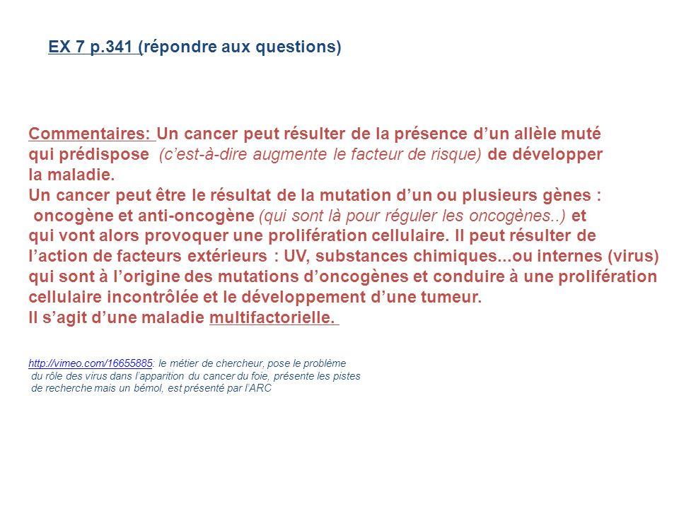 EX 7 p.341 (répondre aux questions)