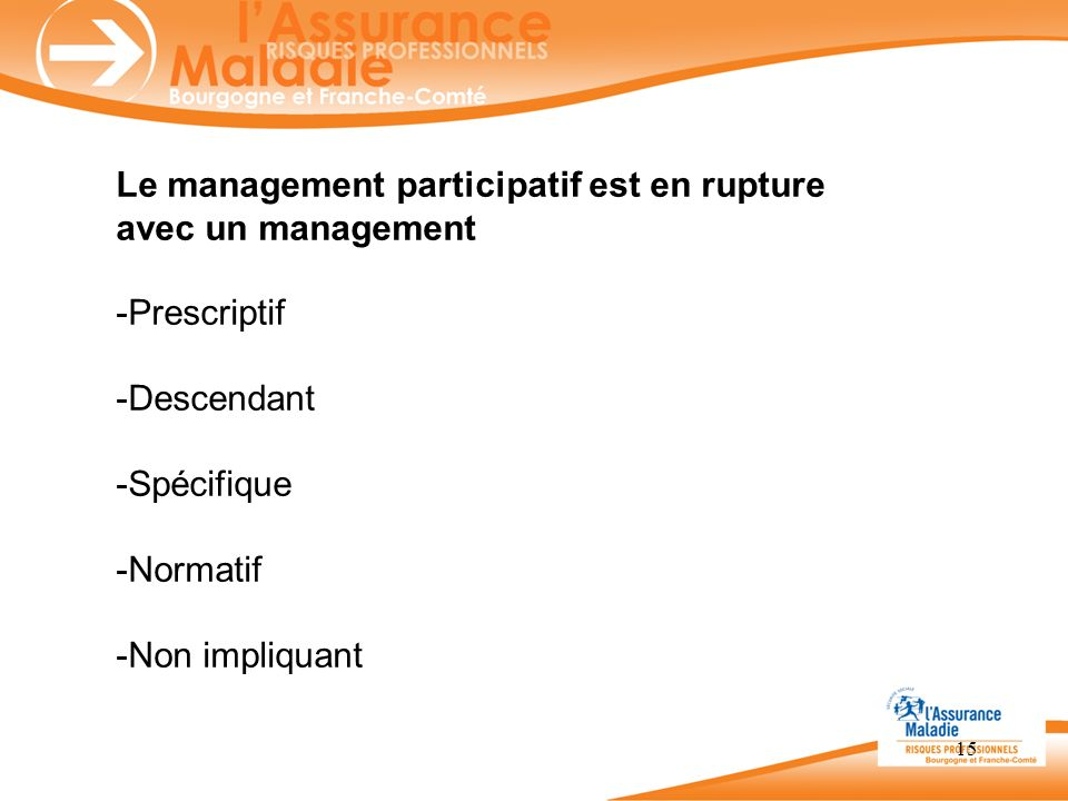 Le management participatif est en rupture