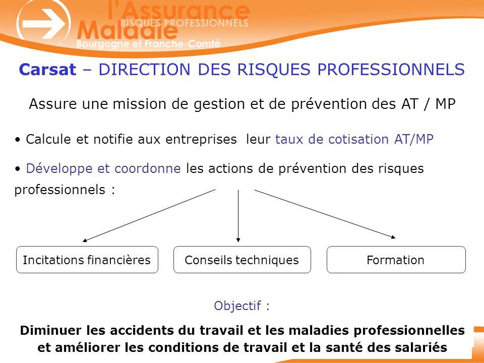 Carsat – DIRECTION DES RISQUES PROFESSIONNELS