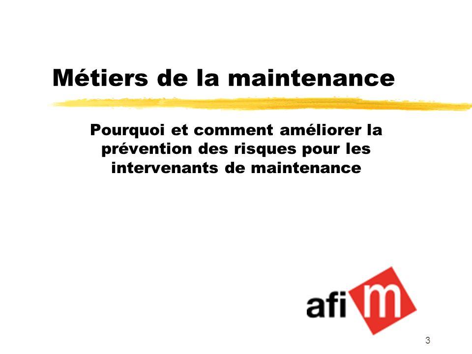Métiers de la maintenance
