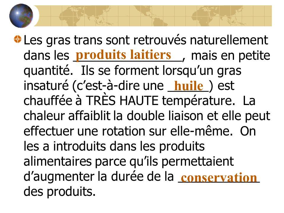 produits laitiers huile conservation