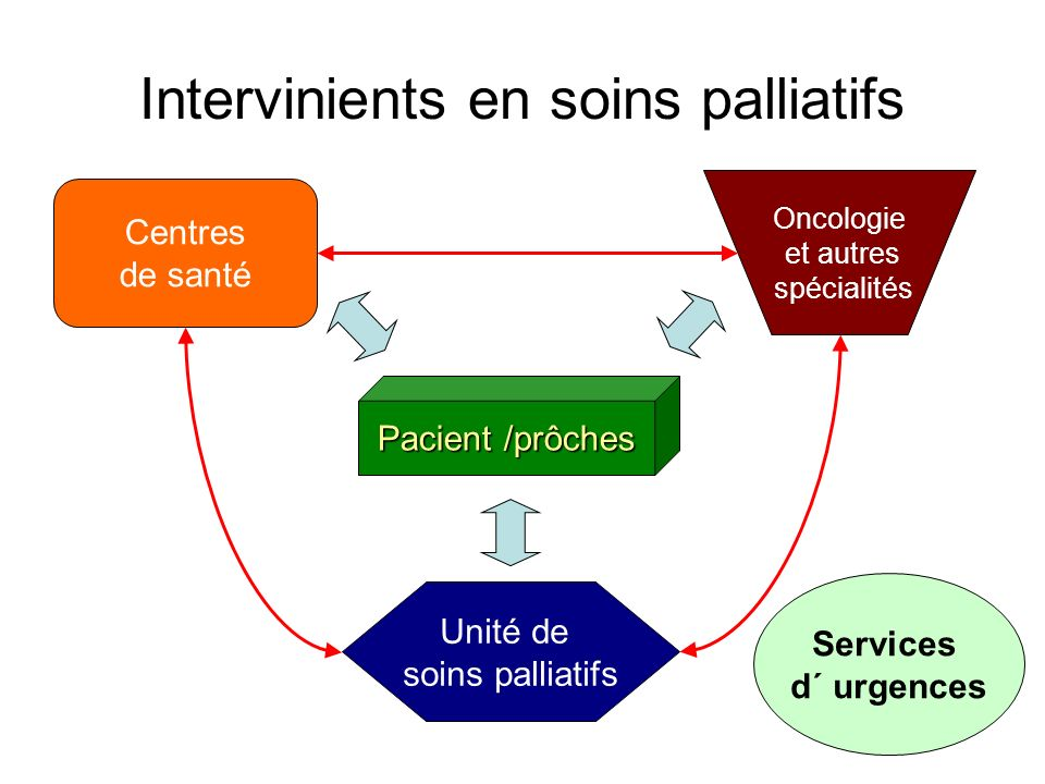 Intervinients en soins palliatifs