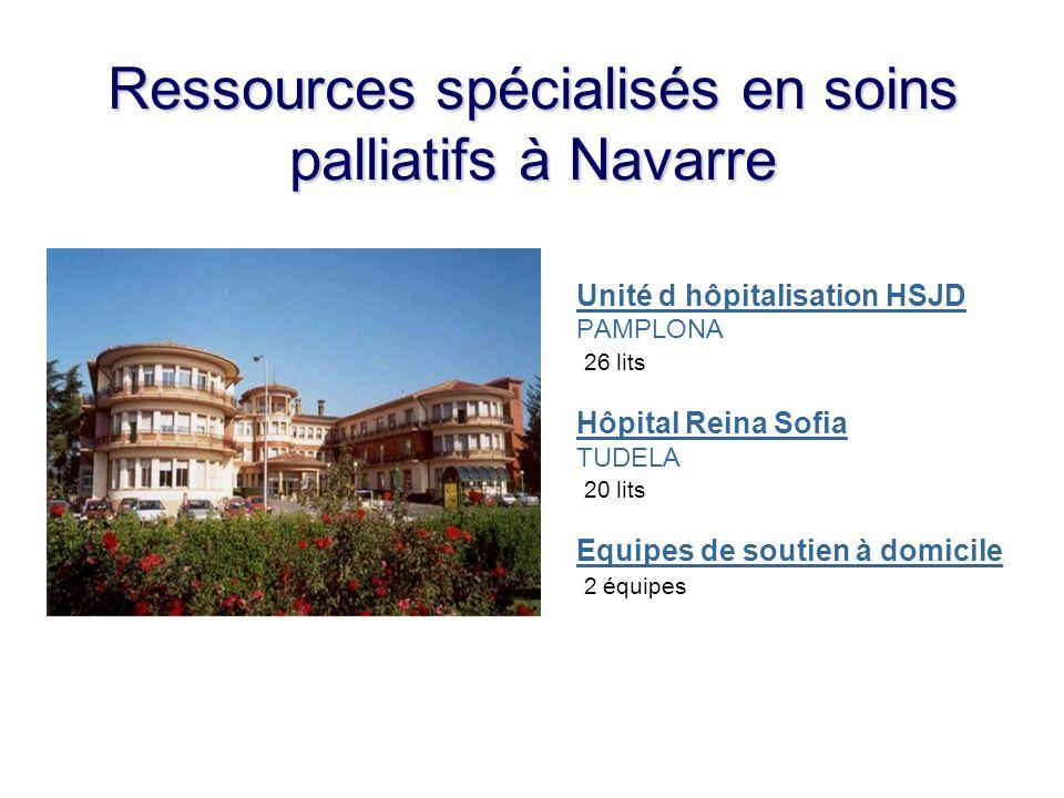 Ressources spécialisés en soins palliatifs à Navarre