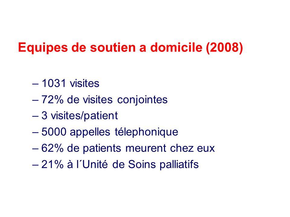 Equipes de soutien a domicile (2008)