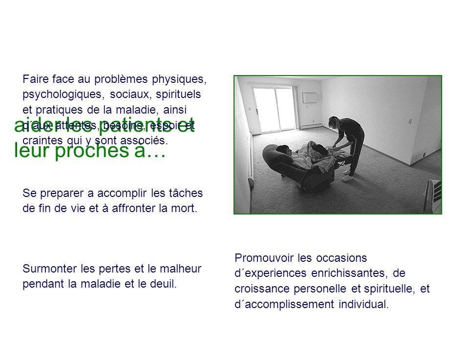 aider les patients et leur proches à…