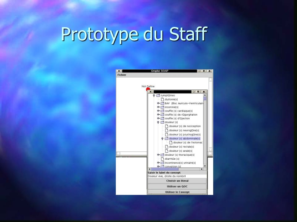 Prototype du Staff