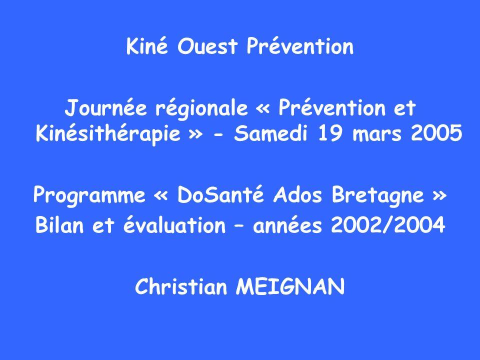Programme « DoSanté Ados Bretagne »