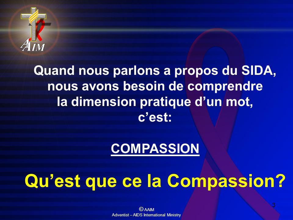 Qu'est que ce la Compassion