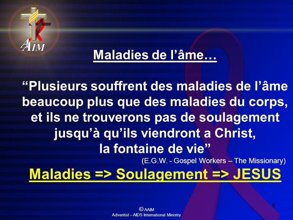 Maladies => Soulagement => JESUS