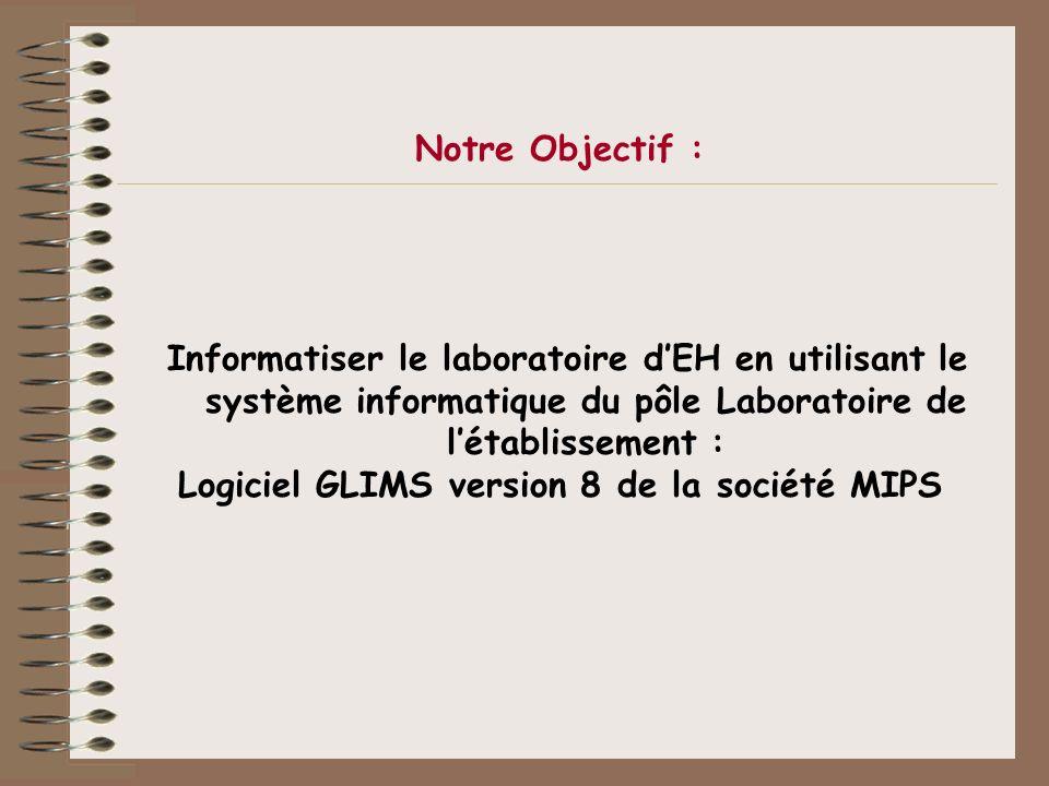 Logiciel GLIMS version 8 de la société MIPS