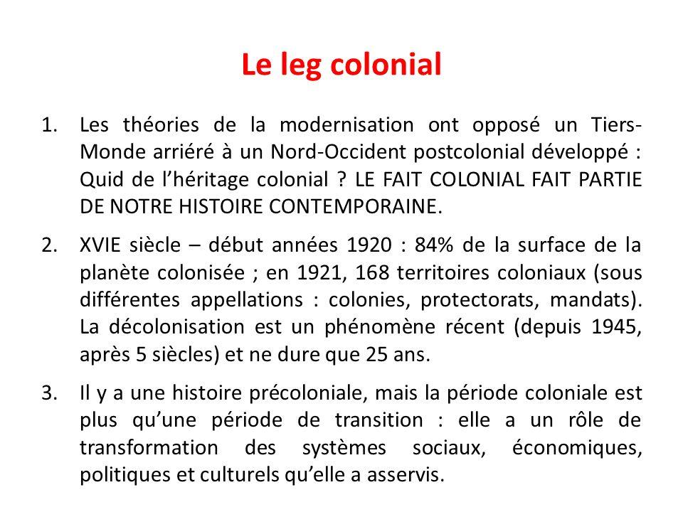 Le leg colonial