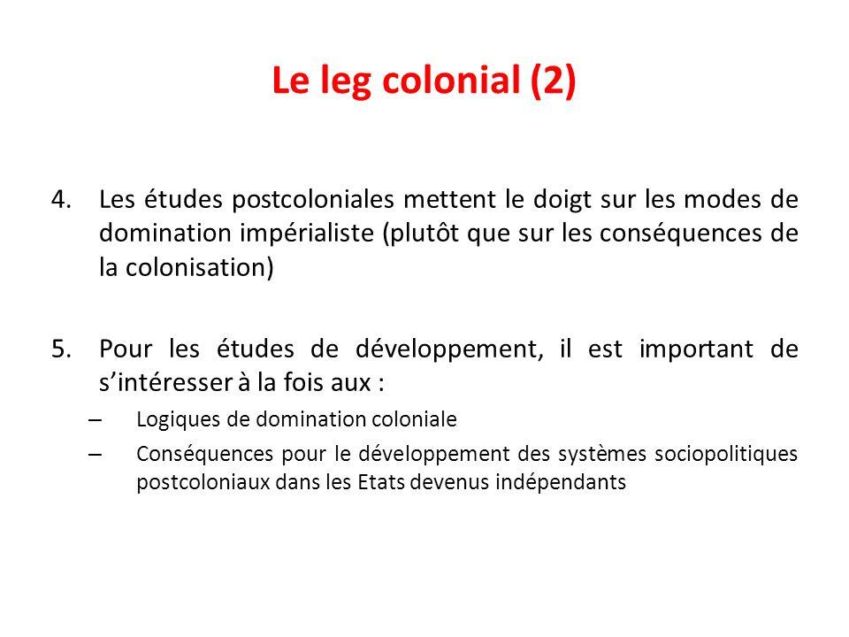 Le leg colonial (2)