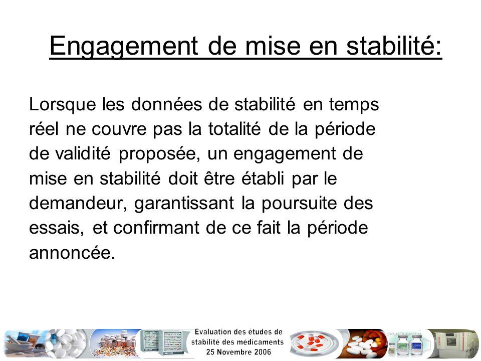 Engagement de mise en stabilité: