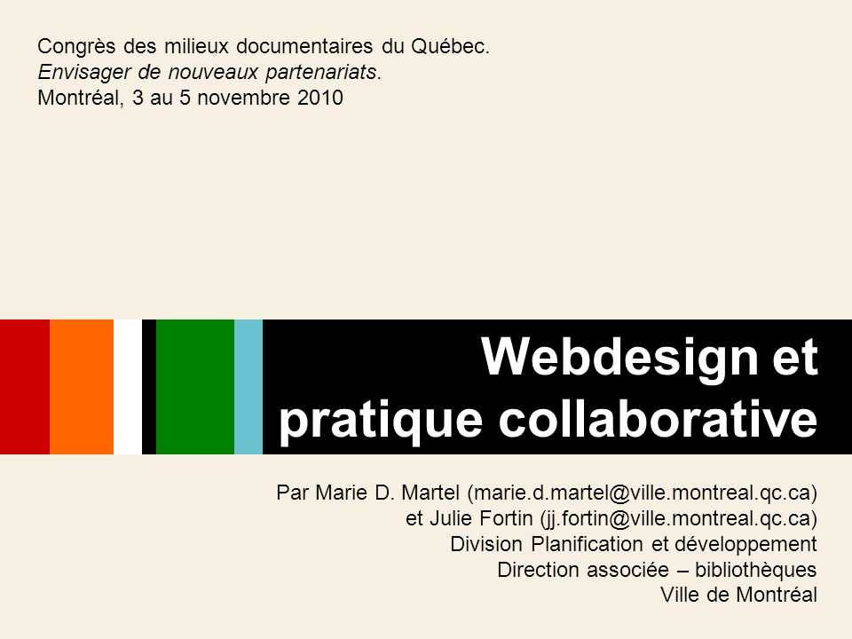 pratique collaborative