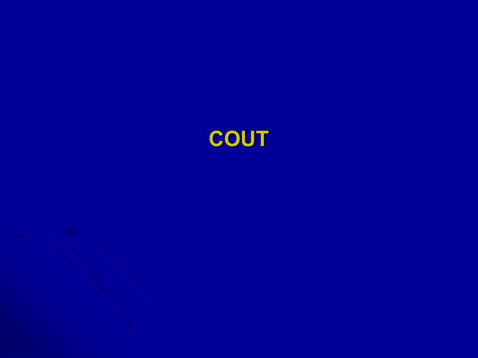 COUT