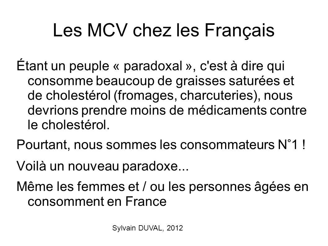 Les MCV chez les Français