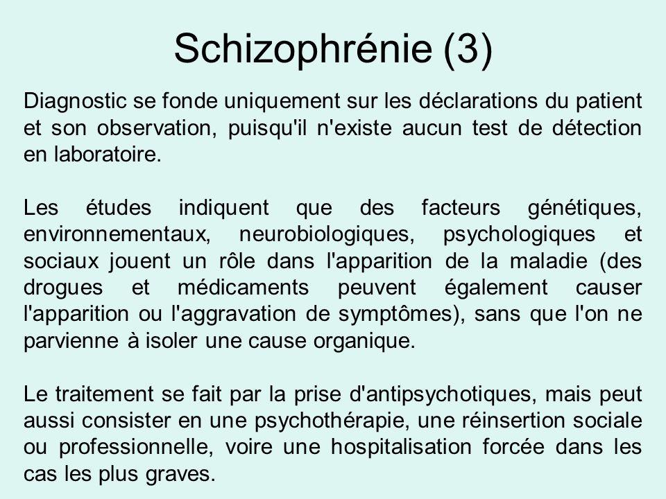 Schizophrénie (3)