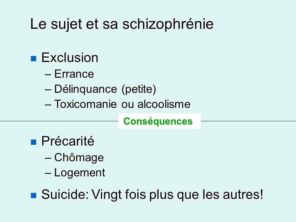 Le sujet et sa schizophrénie