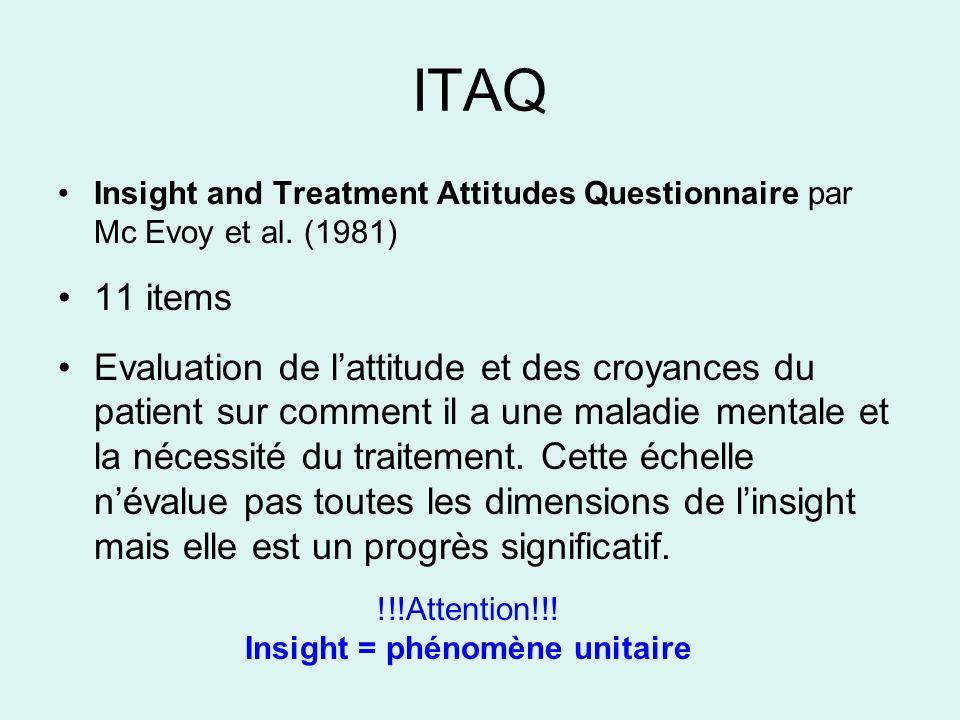 Insight = phénomène unitaire