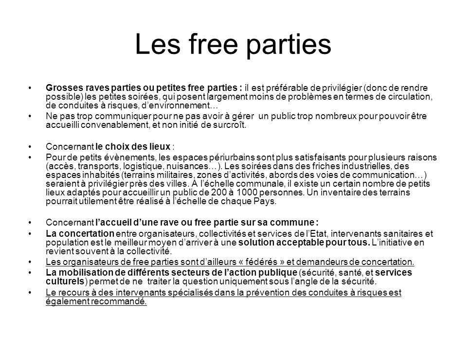 Les free parties
