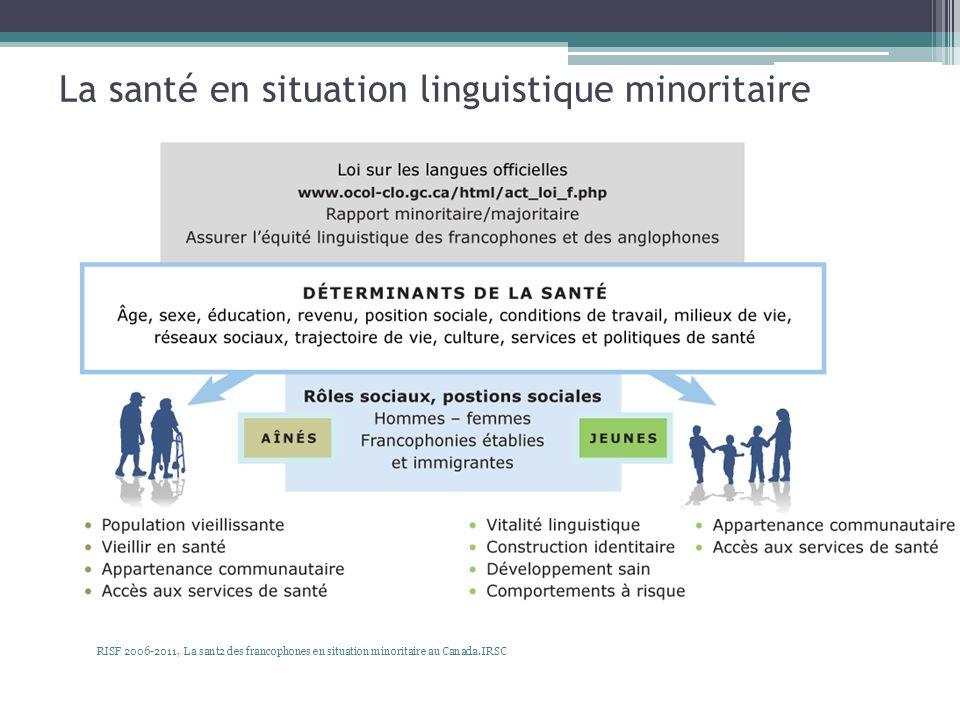 La santé en situation linguistique minoritaire