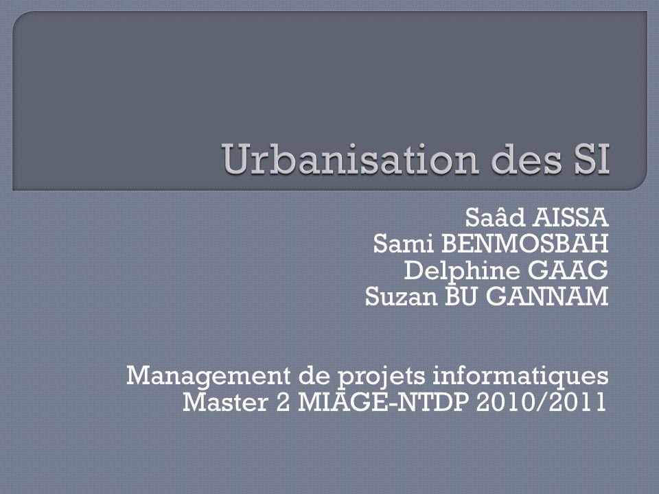 Urbanisation des SI Saâd AISSA Sami BENMOSBAH Delphine GAAG