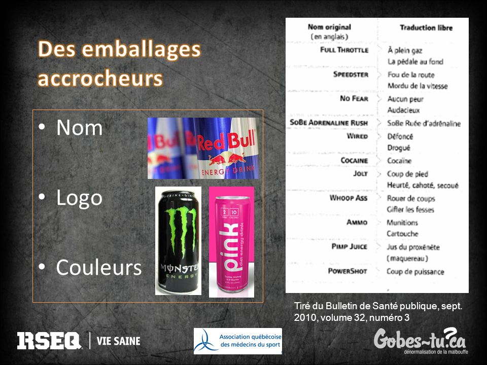 Des emballages accrocheurs