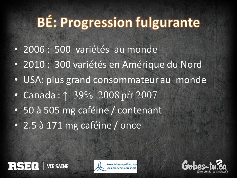 BÉ: Progression fulgurante