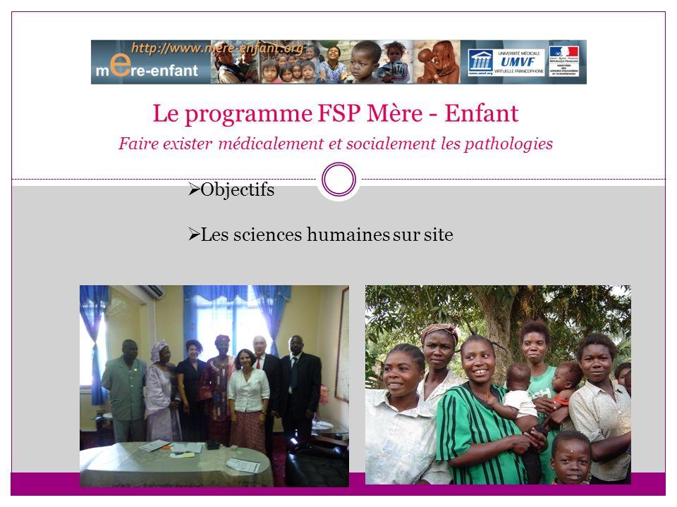 Le programme FSP Mère - Enfant