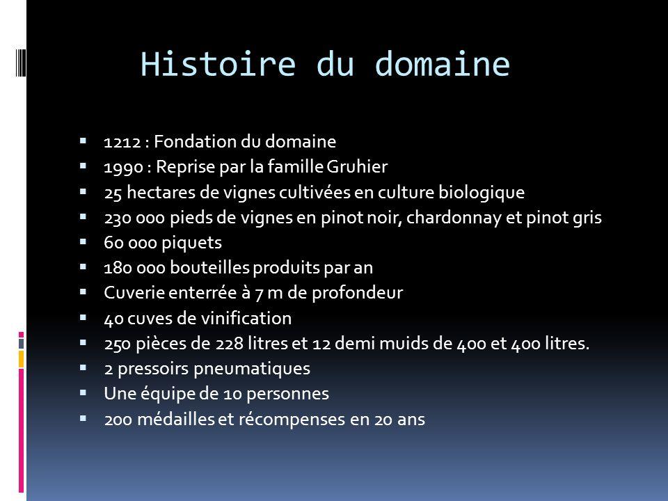 Histoire du domaine 1212 : Fondation du domaine