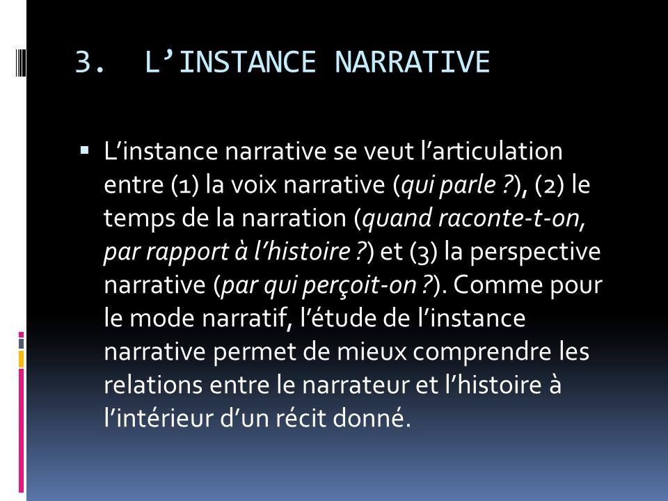 3. L'INSTANCE NARRATIVE