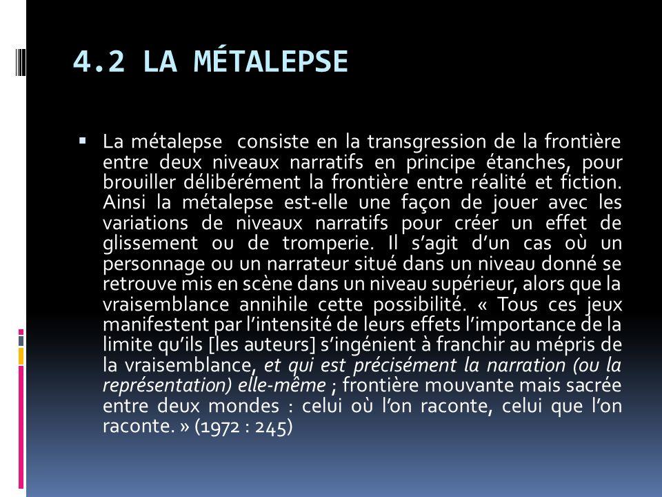 4.2 LA MÉTALEPSE